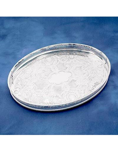 "Gallery Tray - 15.25"" Oval Mounted"