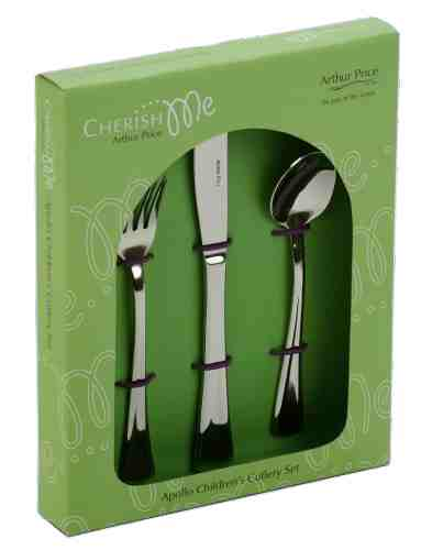 Child's Cutlery Set (Apollo Design) (Stainless Steel)