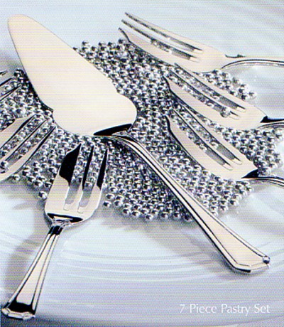 6 Pastry Forks In Gift Box - AP Classic Royal Pearl