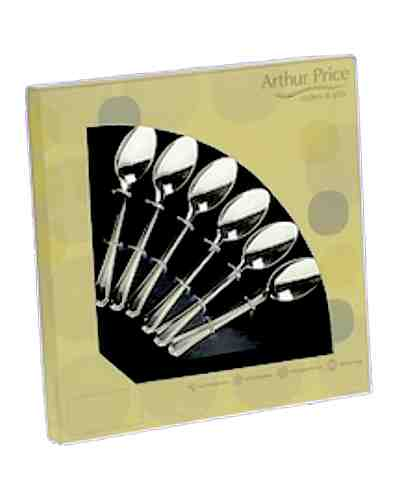 6 Tea Spoons In Gift Box - AP Classic Dubarry