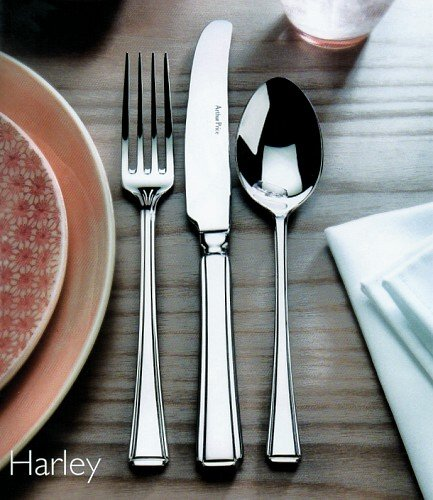 Serving Spoon & Fork (Lrg) - AP Classic Harley