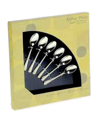 6 Coffee Spoons In Gift Box - AP Classic Harley