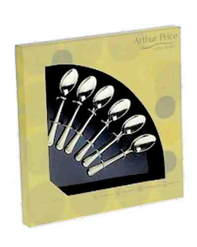 6 Coffee Spoons In Gift Box - AP Classic Royal Pearl