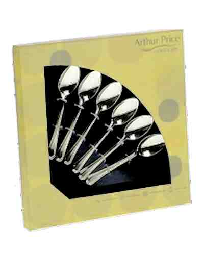 6 Tea Spoons In Gift Box - AP Classic Kings