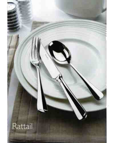 Serving Spoon & Fork (Lrg) - AP Classic Rattail