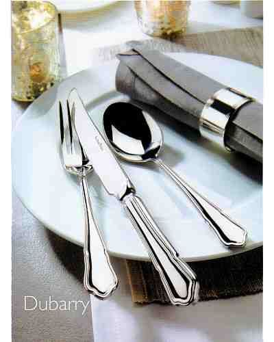 Serving Spoon & Fork (Lrg) - AP Classic Dubarry