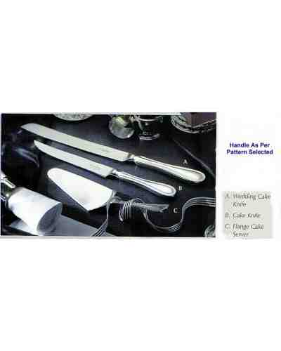 Cake Knife - APofE Stainless Steel Grecian