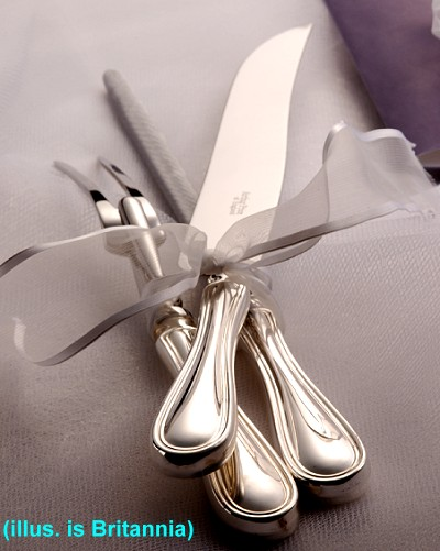 3 Piece Carving Set - APofE Sterling Silver Royal Pearl