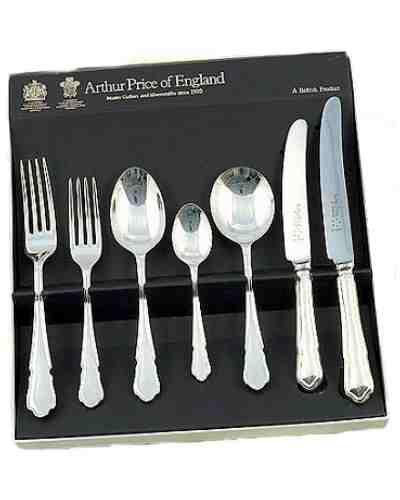 7 Piece Set In Gift Box APoE Sovereign Silver Plate Dubarry
