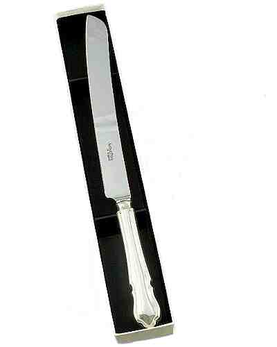 Wedding Cake Knife - APofE Sovereign Silver Plate Dubarry