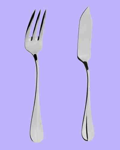 Fish Eaters (Pair) - APofE Stainless Steel Baguette