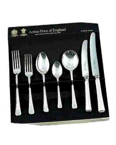 7 Piece Set In Gift Box APoE Sovereign Silver Plate Harley