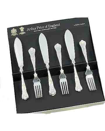 Fish Eaters In Gift Box (6 Pairs) APoE Stainless Steel Kings