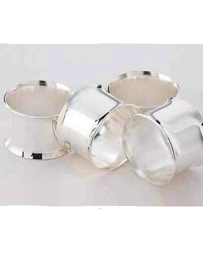 Napkin Ring With Curved Edges (4)