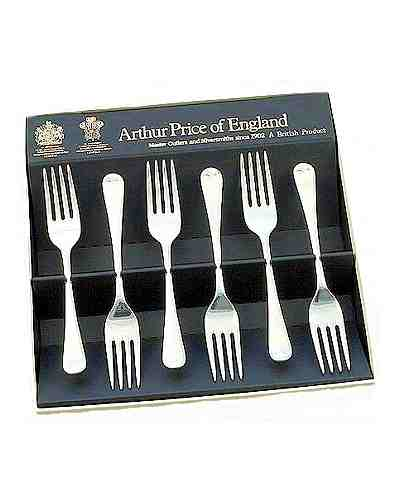 Tea / Fruit Forks In ift Box (6) APoE S/Steel Old English
