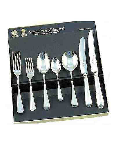7 Piece Set In Gift Box APoE Sterling Silver Old English