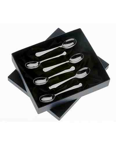 Coffee Spoons In Gift Box (6) APoE Stainless Steel Rattail