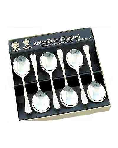 Fruit Spoons In Gift Box (6) APoE S/Steel Royal Pearl