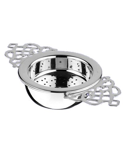 Tea Strainer & Matching Drip Cup