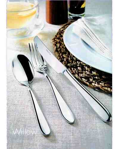 Serving Spoon & Fork (Lrg) - AP Classic Willow