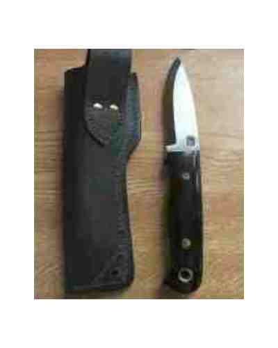 "4"" Bushcraft Knife With Buffalo Handle"