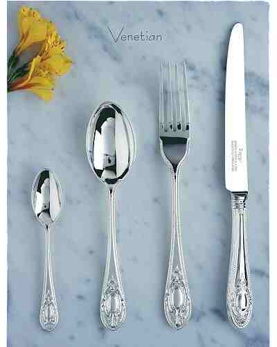 124 Piece Set - Elkington EPNS Venetian