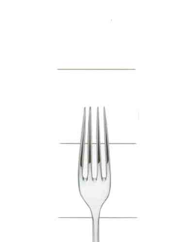 Dessert Fork - Sheffield Cutlery EPNS 20 Micron Plain Fiddle