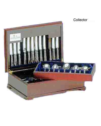 124 Pcs In Collector Cabinet - APofE Sterling Silver Baguette