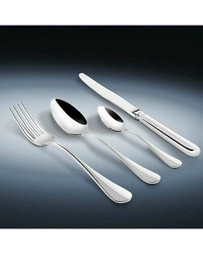 124 Piece Set (Loose) - Sheffield Cutlery S/Steel Baguette