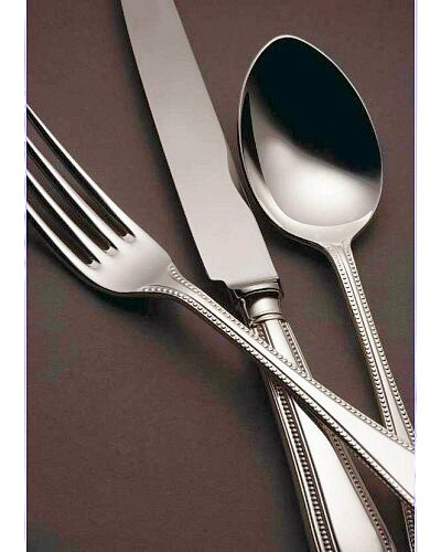 44 Piece Set (Loose) - Sheffield Cutlery Sterling Silver Bead