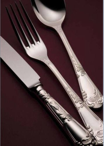 44 Piece Set (Loose) - Sheffield Cutlery EPNS 30 Mic. La Regence