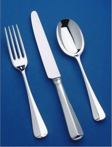 62 Piece Set (Loose) - Sheffield Cutlery EPNS 10 Micron Rattail
