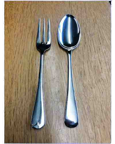 Server Fork (Lrg) - Sheffield Cutlery EPSS 20 Micron Old Eng.