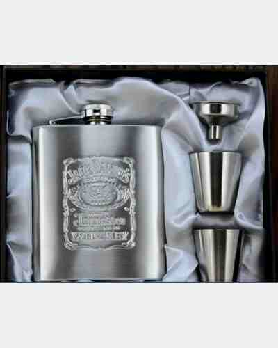 Jack Daniels Hip Flask Set