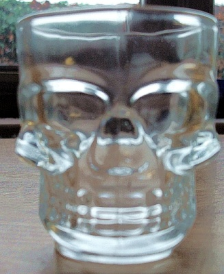 Shot Glasses (Pair) Skull Design