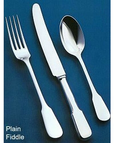 62 Piece Set (Loose) - Sheffield Cutlery EPNS 10 Micron P. F.